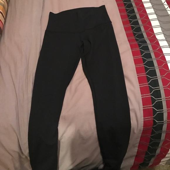7340dcb6b516ef lululemon athletica Pants | Full Length Lululemon Black Leggings ...